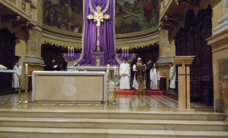 L'inizio della Messa